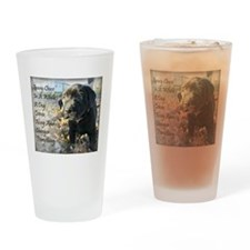 Puppy Change Drinking Glass