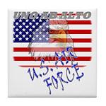 American Eagle US Air Force Tile Coaster