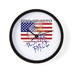 American Eagle US Air Force Wall Clock