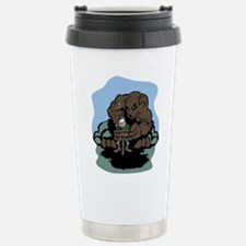 Don't Feed the Bears Stainless Steel Travel Mug