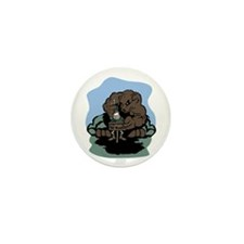 Don't Feed the Bears Mini Button (100 pack)