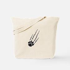 Bear Paw Rip Tote Bag