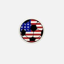 USA Soccer Mini Button