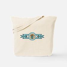 bear track Tote Bag