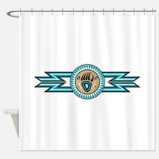bear track Shower Curtain
