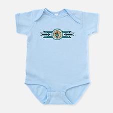 bear track Infant Bodysuit