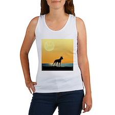 Boston Terrier Surfside Sunset Tank Top