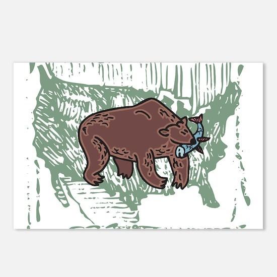 American Bear Postcards (Package of 8)