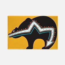 Indian Bear Rectangle Magnet