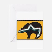 Indian Bear Greeting Card