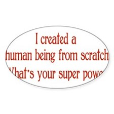 What's Your Super Power Decal