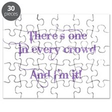 One In Every Crowd Puzzle