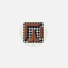 Masonic Working Tools No. 1 Mini Button