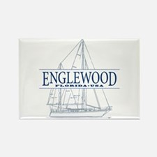 Englewood - Rectangle Magnet