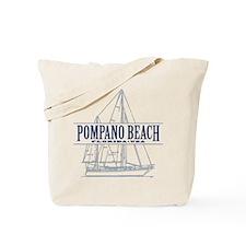 Pompano Beach - Tote Bag