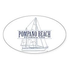 Pompano Beach - Decal