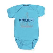 Pompano Beach - Baby Bodysuit