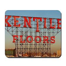 Kentile Floors Sign Mousepad