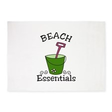 Beach Essentials 5'x7'Area Rug