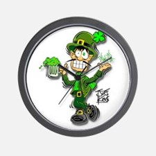 """THAT LEPRECHAUN GUY"" Wall Clock"