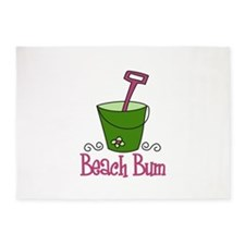 Beach Bum 5'x7'Area Rug