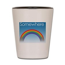 Over the Rainbow Shot Glass