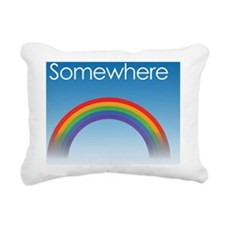 Over the Rainbow Rectangular Canvas Pillow