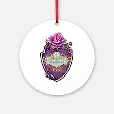 Libra Ornament (Round)