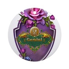 Gemini Ornament (Round)