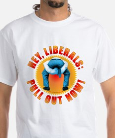 Anti liberal Pull Out Now Shirt