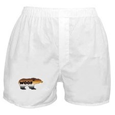 FURRY PRIDE BEAR/WOOF Boxer Shorts