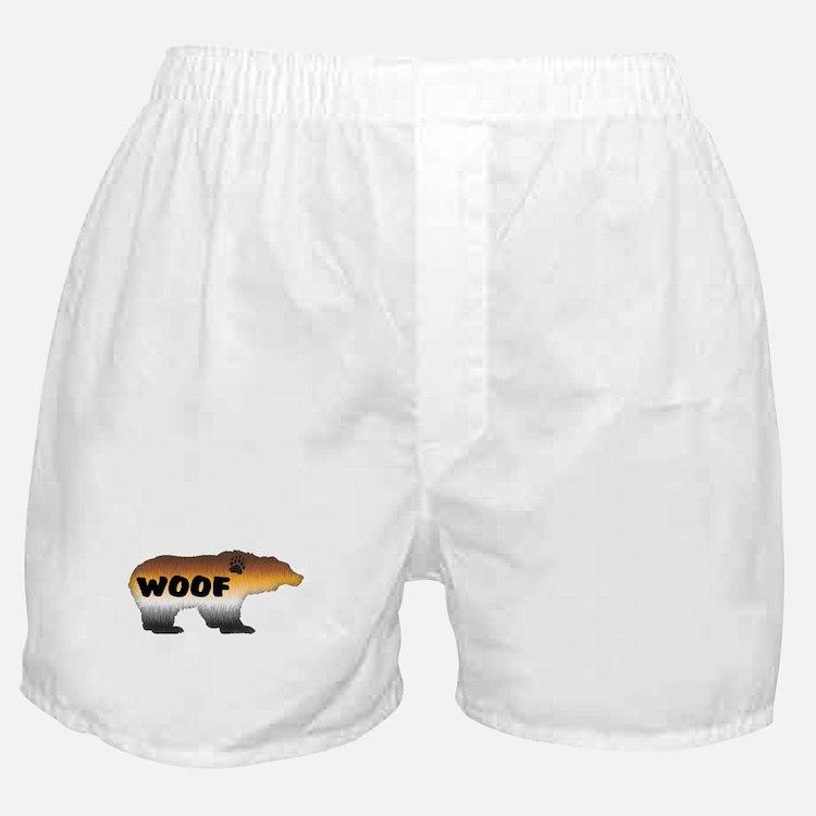 FURRY PRIDE BEAR/WOOF Boxer Shorts