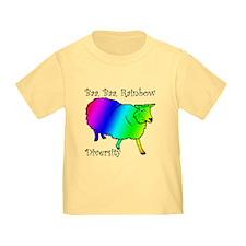 Baa Rainbow Sheep T-Shirt