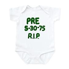 PRE 5-30-75 R.I.P. Infant Bodysuit