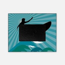 Surfing the Wave Picture Frame