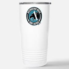 Destructive Delta logo Travel Mug