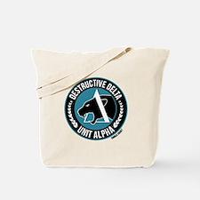 Destructive Delta logo Tote Bag