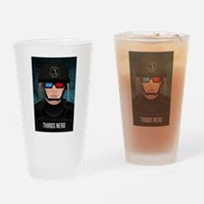 THIRDS Nerd Drinking Glass