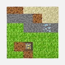 Pixel Art Play Mat Queen Duvet