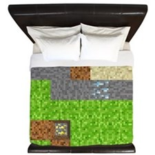Pixel Art Play Mat King Duvet