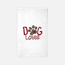Dog Lover 3'x5' Area Rug