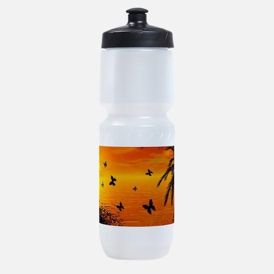 Sunset Sports Bottle
