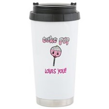 Cake Pop Loves You!! Travel Mug