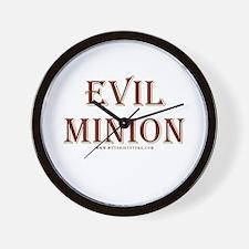 Evil Minion Wall Clock