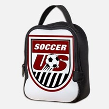 American Soccer Neoprene Lunch Bag