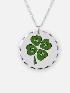 Four H Club Necklace