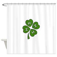 Four H Club Shower Curtain