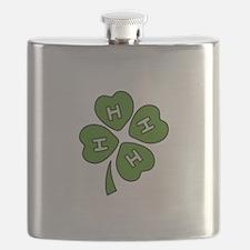 Four H Club Flask