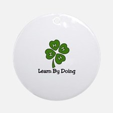 Learn By Doing Ornament (Round)