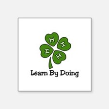 Learn By Doing Sticker